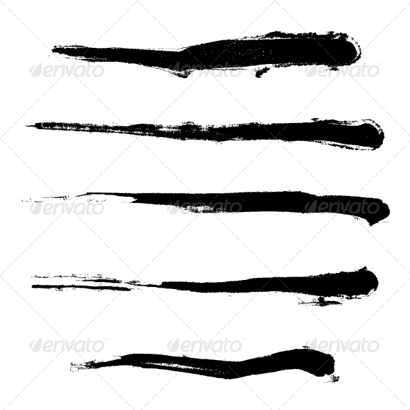 Paintbrush Set - Decorative Symbols Decorative