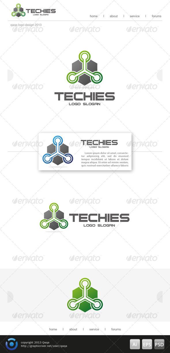 Techies Logo - Logo Templates
