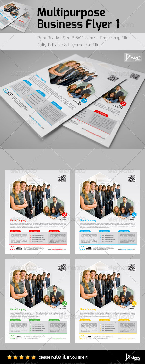 Corporate Professional Flyer - Flyers Print Templates