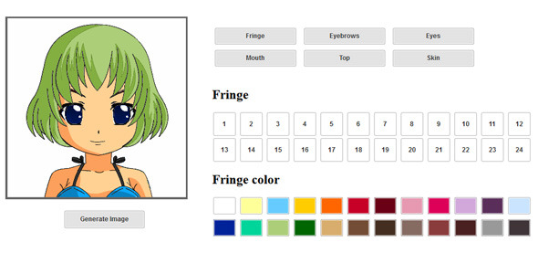 HTML5 Face Builder - CodeCanyon Item for Sale