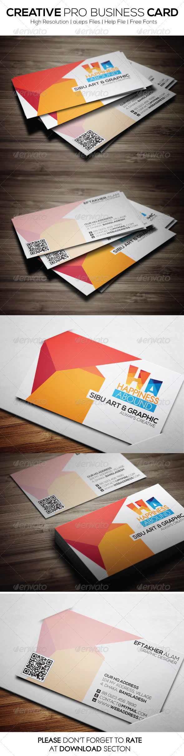 Creative Pro Business Card - Creative Business Cards