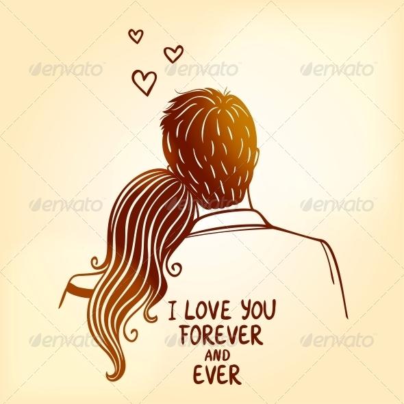 Loving Couple - Valentines Seasons/Holidays