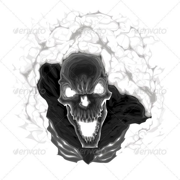 Black Skeleton - Monsters Characters