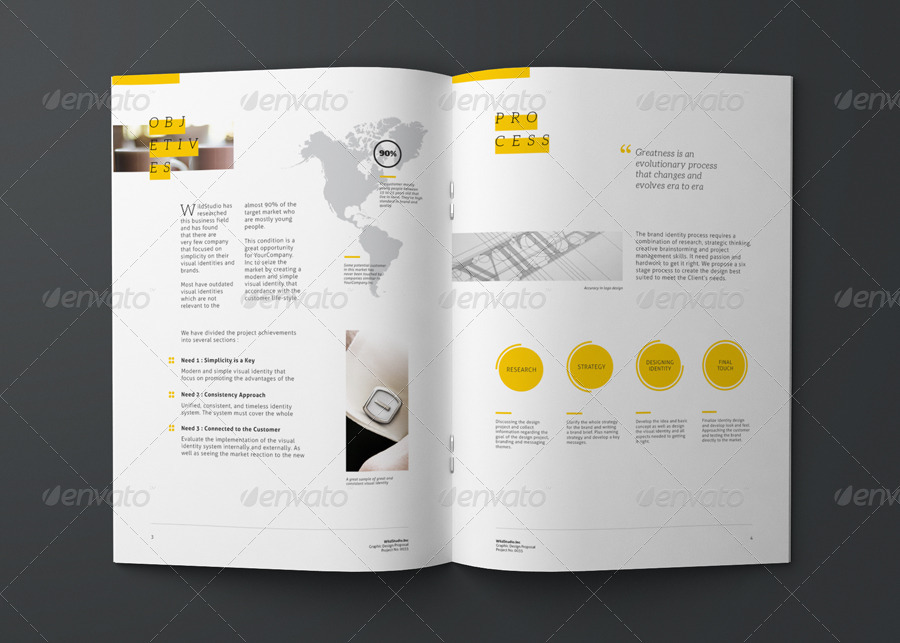 Graphic Design Project Proposal Template By Codeid Graphicriver