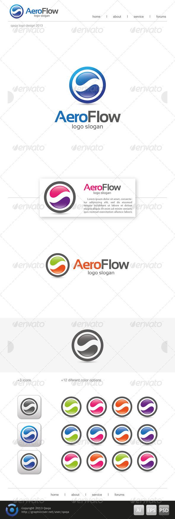 Aero Flow Logo - Logo Templates
