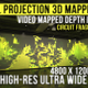 Wall Projection Mapping - 3D illusion Starter Kit (Circuit Style) - VideoHive Item for Sale