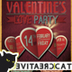 Valentine's Party Flyer/Poster Vol. 2 - GraphicRiver Item for Sale