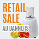 Multipurpose Retail Sale Ad Banners-Vol2 - GraphicRiver Item for Sale