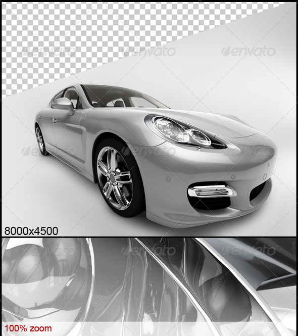 Black Car 4 - 3D Renders Graphics