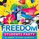 Freedom Party Flyer