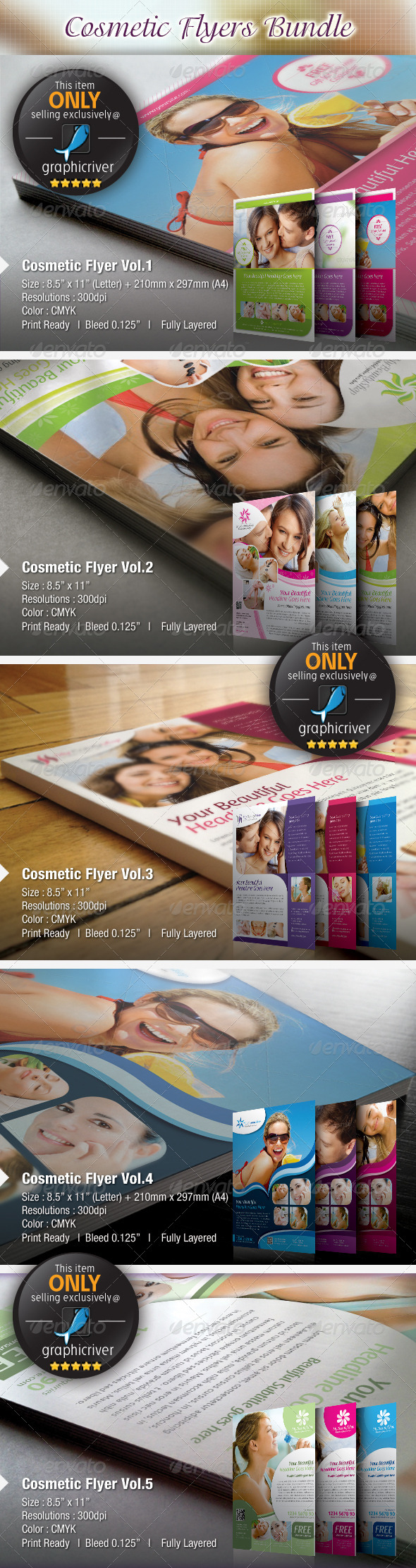 Cosmetic Flyers Bundle - Miscellaneous Events