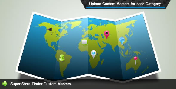 Super Store Finder - Custom Markers Add-on - CodeCanyon Item for Sale