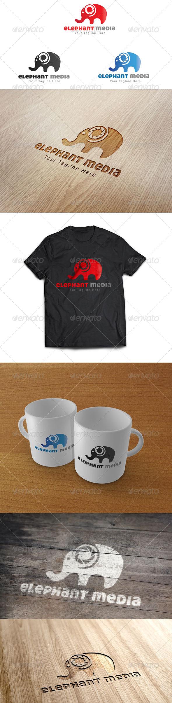 Elephant Media - Logo Template - Animals Logo Templates