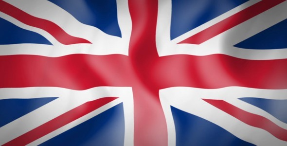 silk flag animation of great britain by chriseos550d videohive