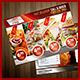 Fast Food Ad & Menu in One - GraphicRiver Item for Sale
