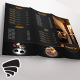 Tri-Fold Restaurant Menu 02 - GraphicRiver Item for Sale