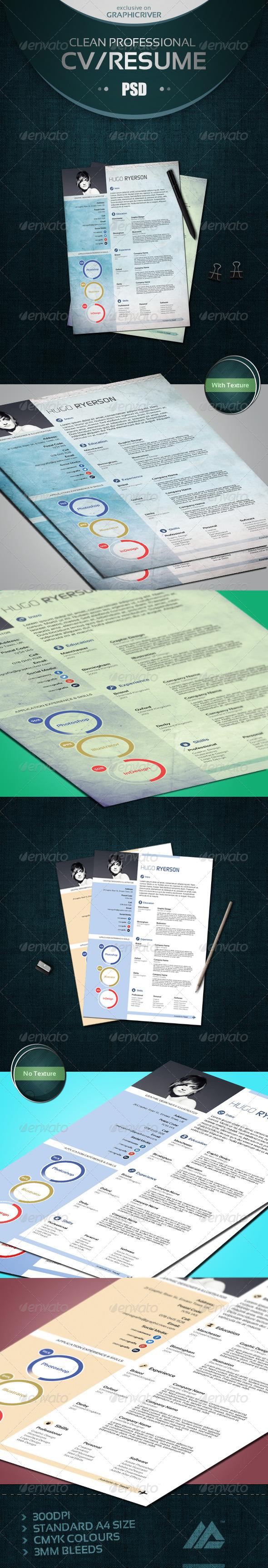 Modern CV/Résumé - Resumes Stationery