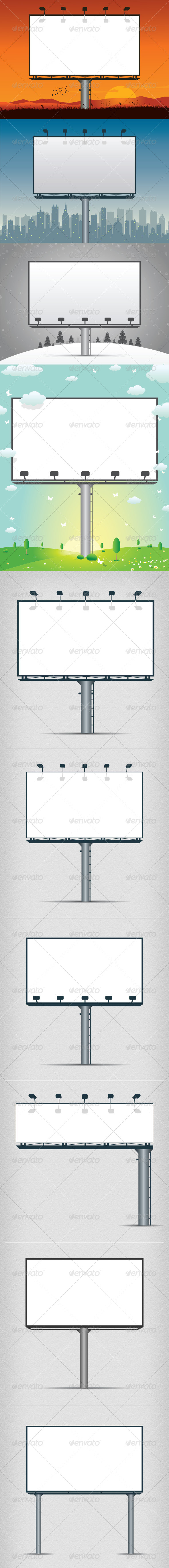 Billboards - Services Commercial / Shopping