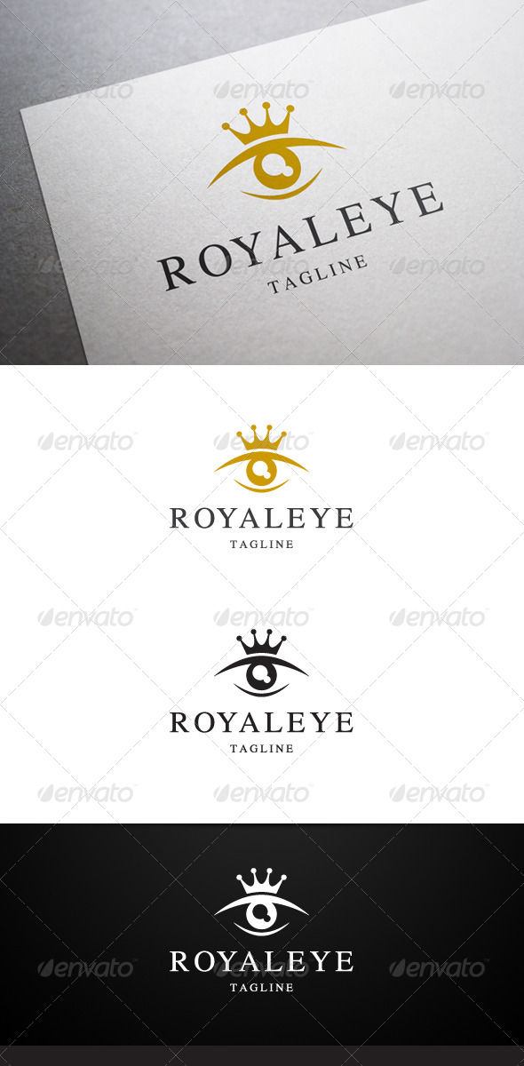 Royal Eye Logo - Symbols Logo Templates