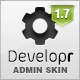 Developr - Fully Responsive Admin Skin - ThemeForest Item for Sale