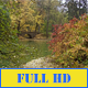 Bridge Over Autumn Lake - VideoHive Item for Sale