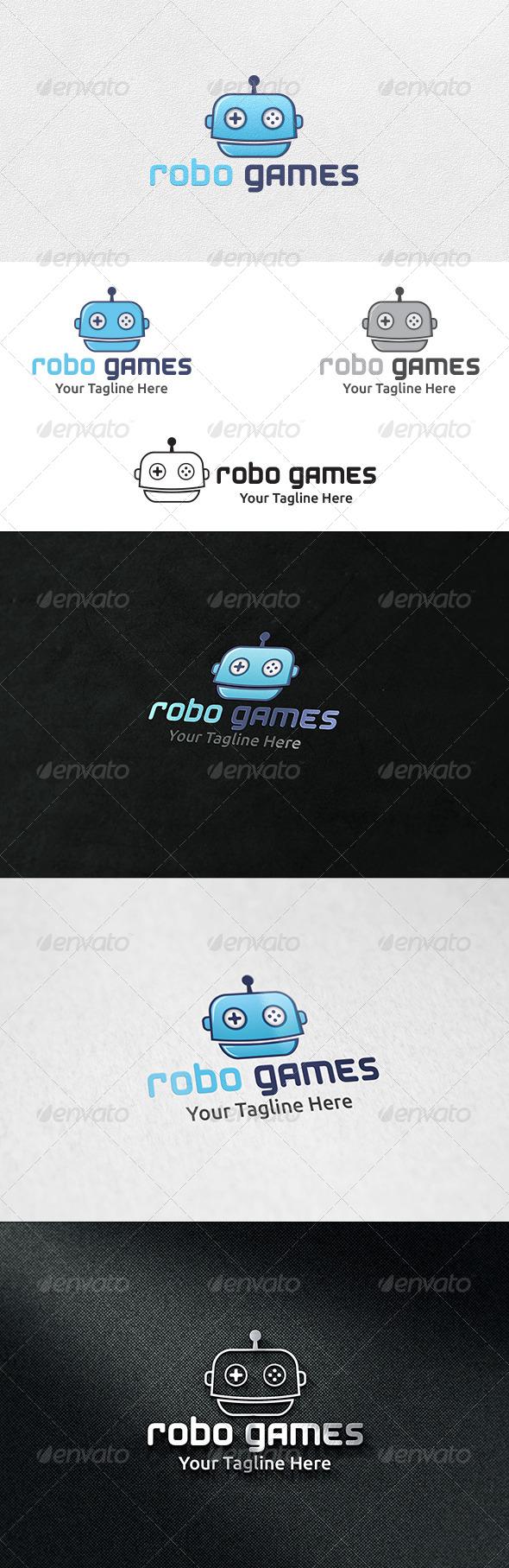 Robot Games - Logo Template - Symbols Logo Templates