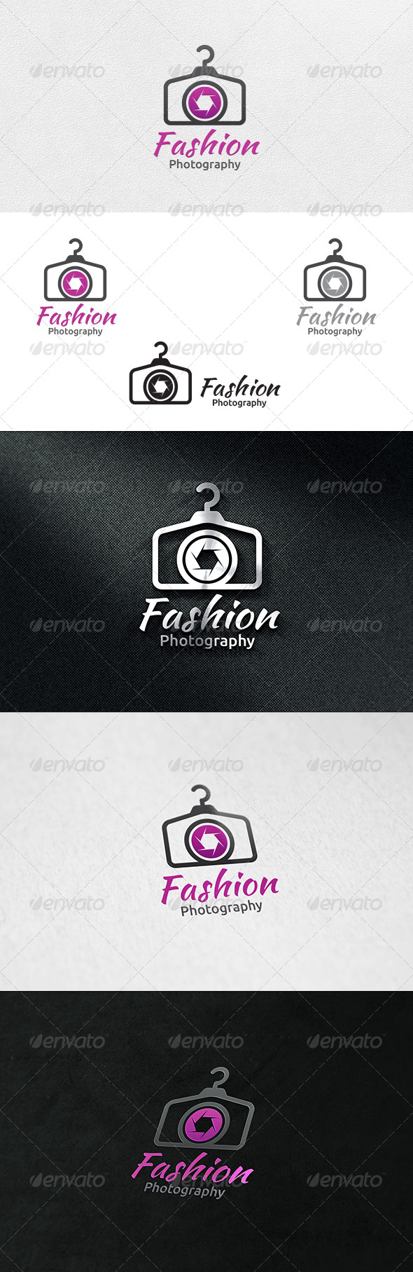 Fashion Photography - Logo Template - Symbols Logo Templates