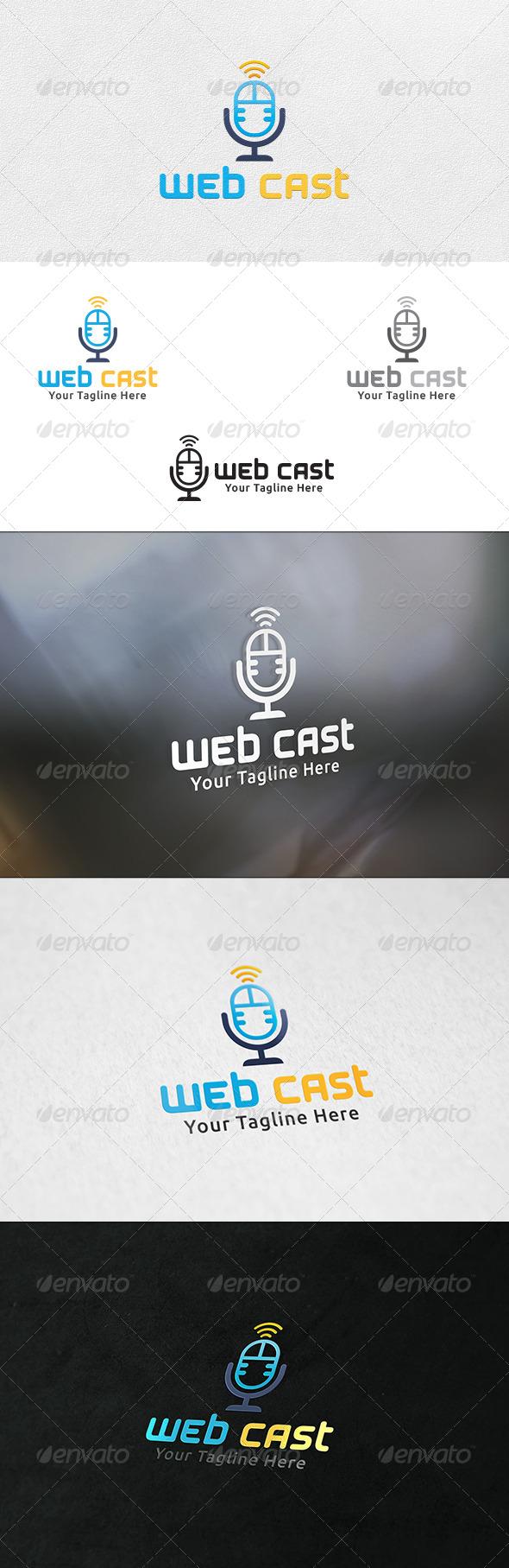 Web Cast - Logo Template - Symbols Logo Templates