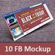 10 Facebook Timeline Cover Mock-ups - GraphicRiver Item for Sale