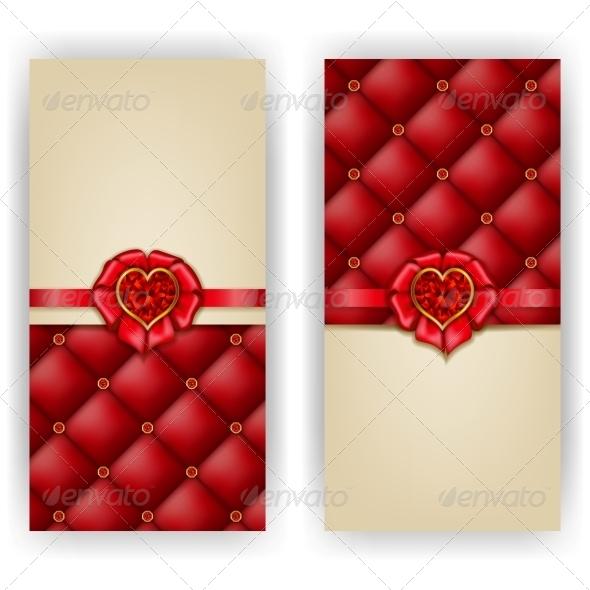 Elegant Template Luxury Invitation - Valentines Seasons/Holidays