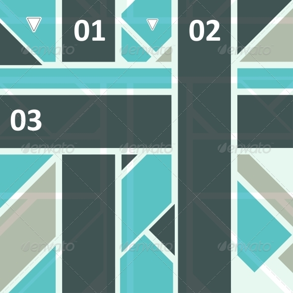 High Tech Design for Infographics - Web Technology