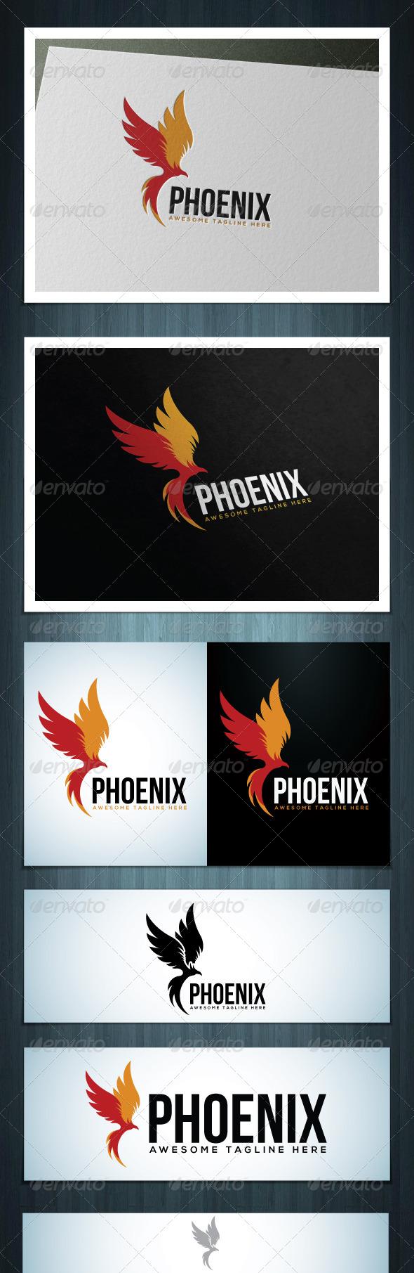 Phoenix - Vector Abstract