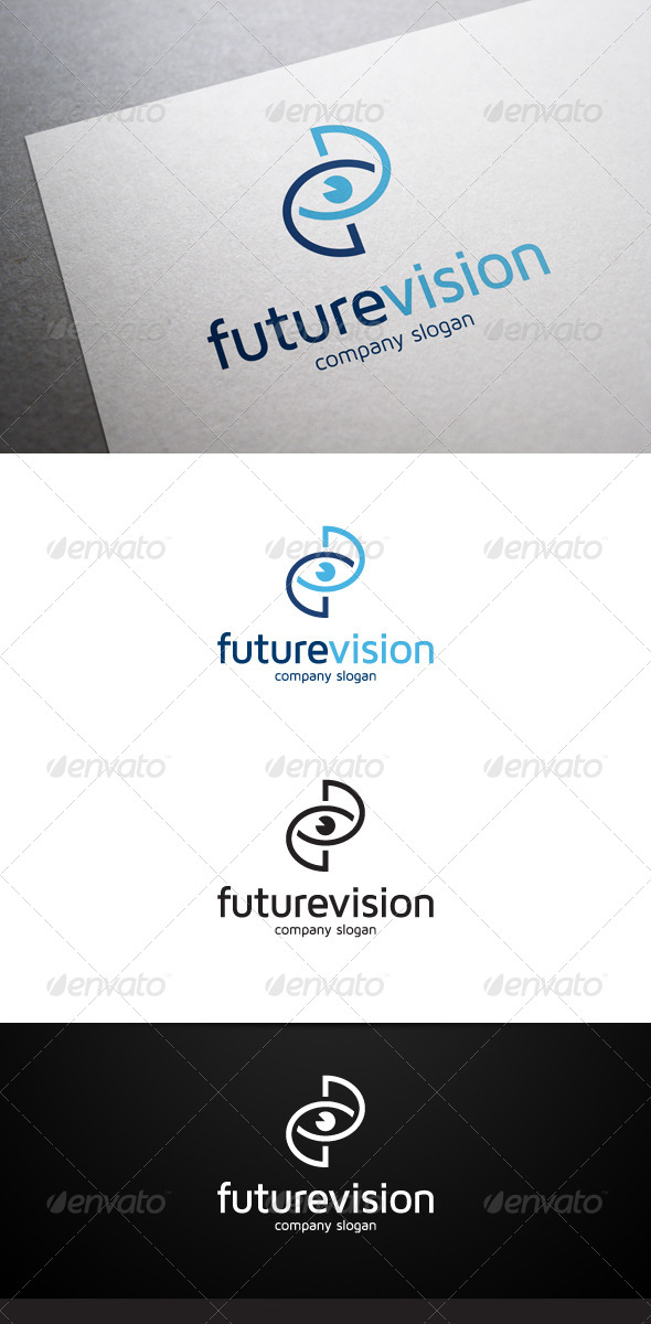 Future Vision Logo - Objects Logo Templates