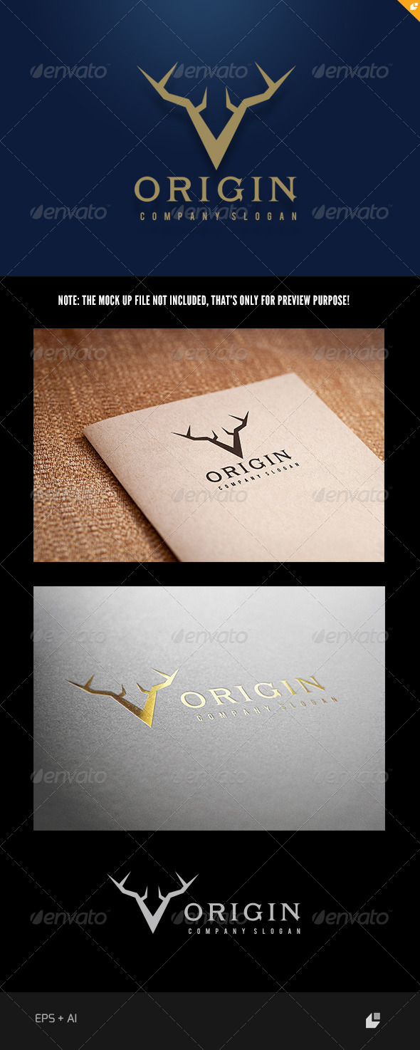 The Origin Logo - Animals Logo Templates