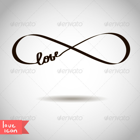 Eternal Love Icon - Decorative Symbols Decorative