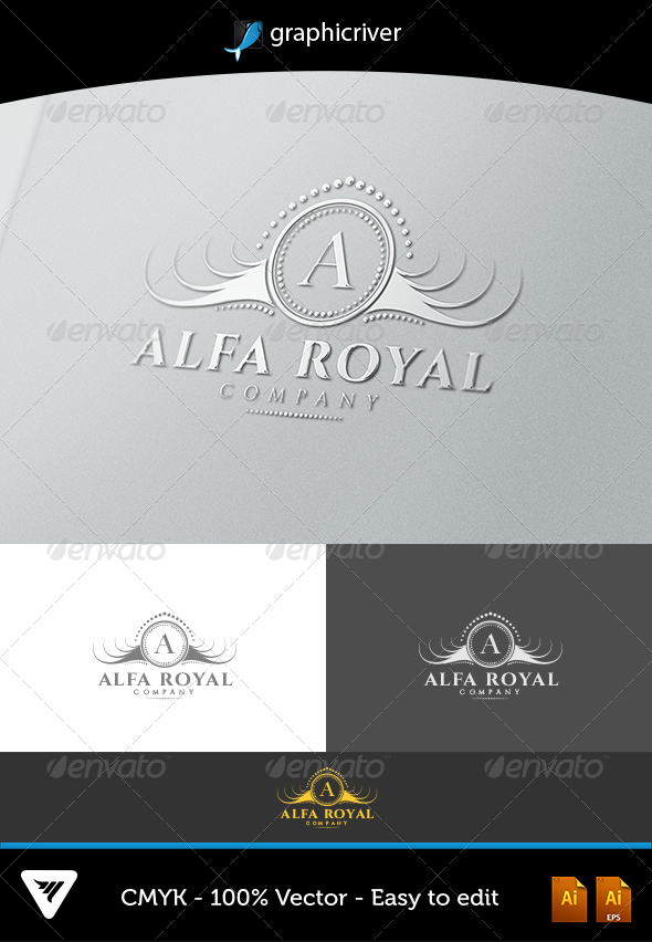 Alfa Royal - Logo Templates