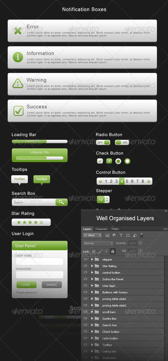 Ultimate Web Elements - Forms Web Elements