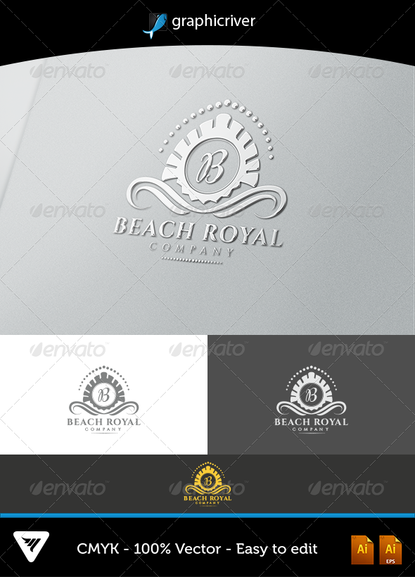 Beach Royal - Logo Templates