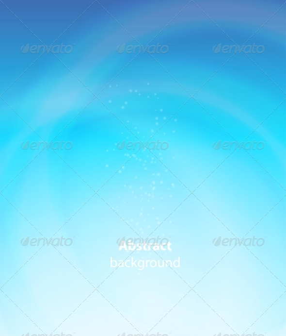 Abstract Aqua Background Vector Iillustration - Abstract Illustrations