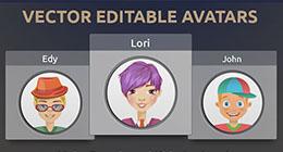 Vector avatars
