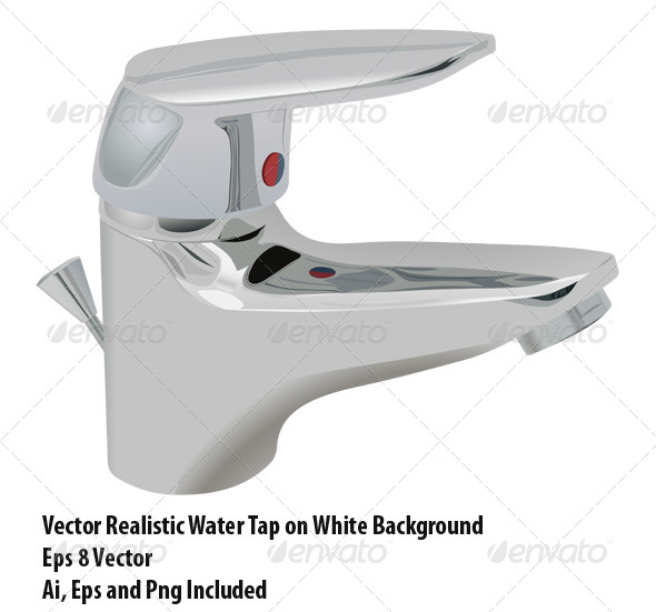 Water Tap - Objects Vectors