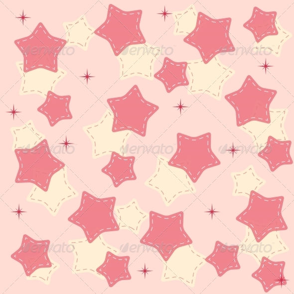 Pin Stars Background Vector - Christmas Seasons/Holidays
