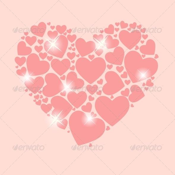 Valentines Day Heart - Decorative Symbols Decorative