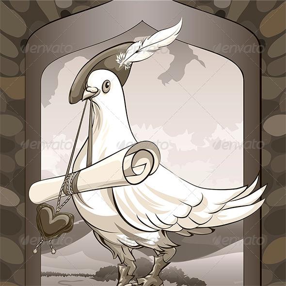 Dove Messenger - Valentines Seasons/Holidays