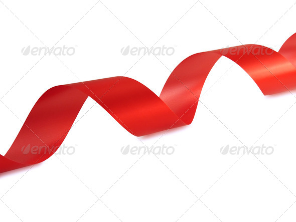 Red Ribbon - Stock Photo - Images