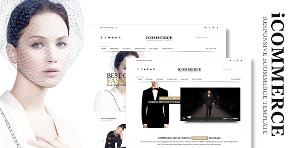 iCommerce - Retina Responsive Ecommerce Template - Shopping Retail