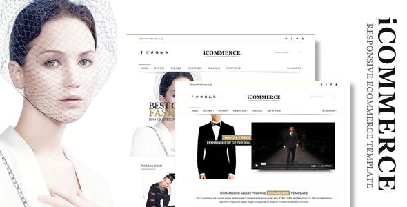 iCommerce – Retina Responsive Ecommerce Template