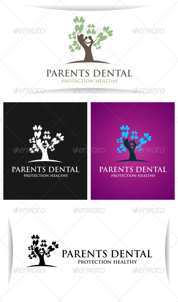 Parents Dental - Abstract Logo Templates
