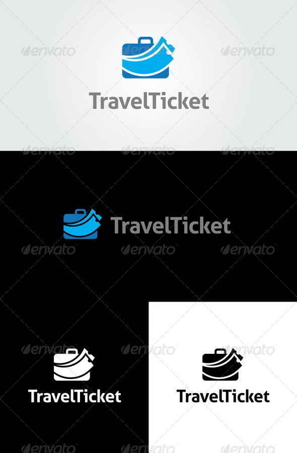 Travel Ticket  Logo Template - Symbols Logo Templates