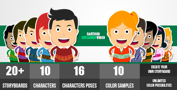 Cartoon Explainer Video Create Your Own Story By Gerdianghilky Videohive
